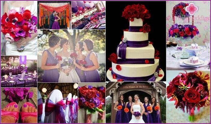 Red-violet wedding gamma