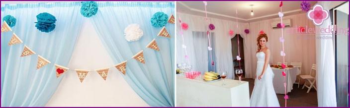 Bride home decoration