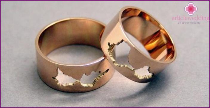 Original wedding rings