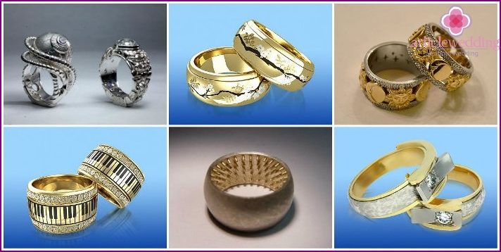 Original wedding rings