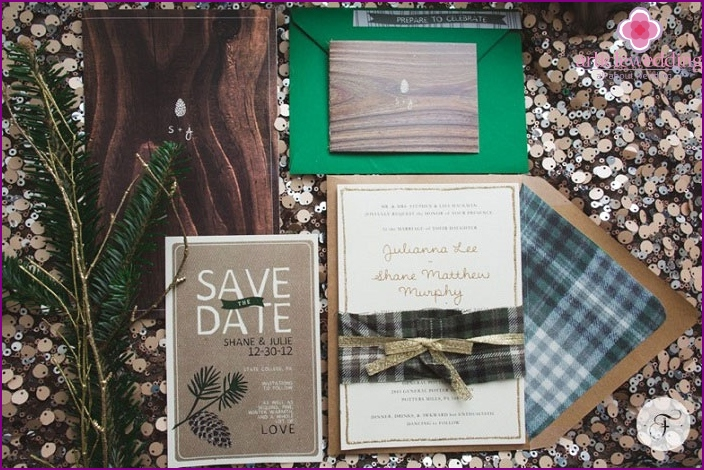 Natural Ideas for Invitations