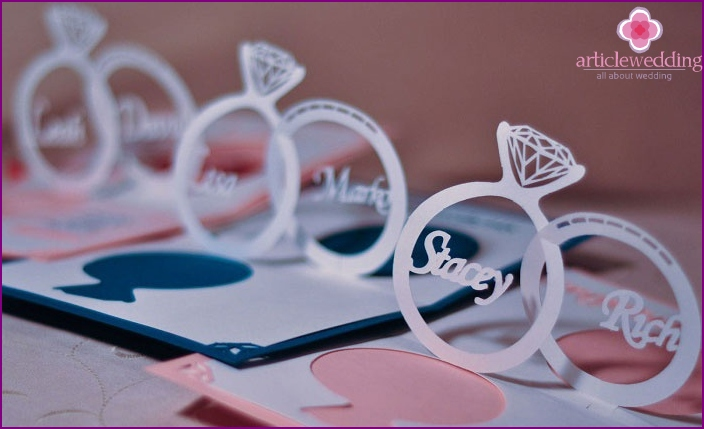 Volumetric invitation rings