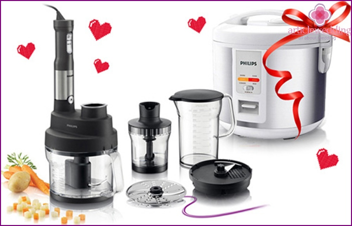Household appliances - a good wedding present