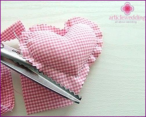 Bonbonniere heart