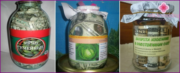 Money bank for newlyweds