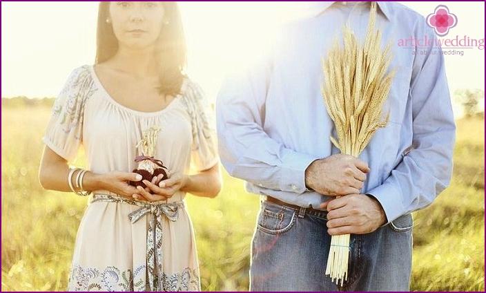 Individual linen wedding gifts