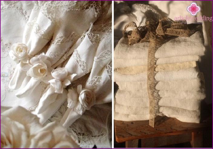 Anniversary Linen Sets