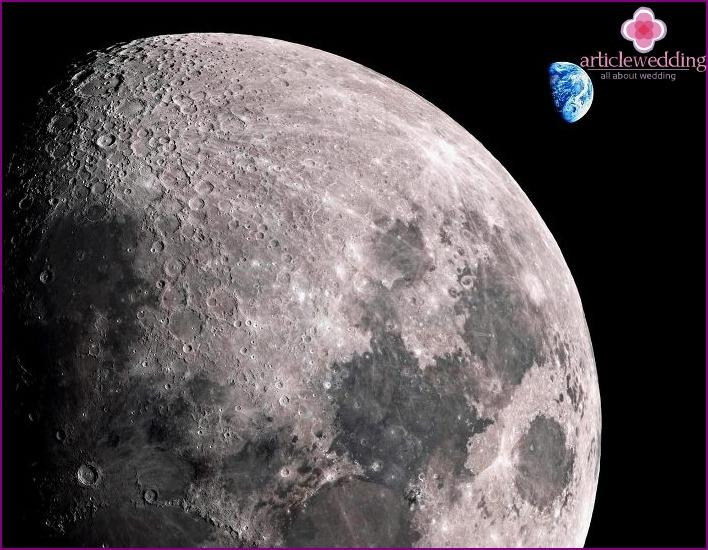 Lunar section, as a virtual wedding present