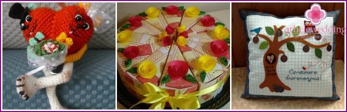 Wedding trifles for newlyweds