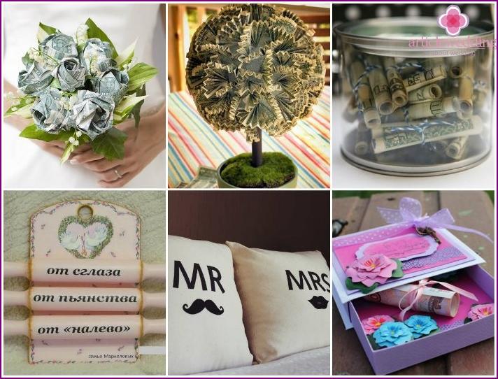 Eine Auswahl cooler Hochzeitsgeschenke