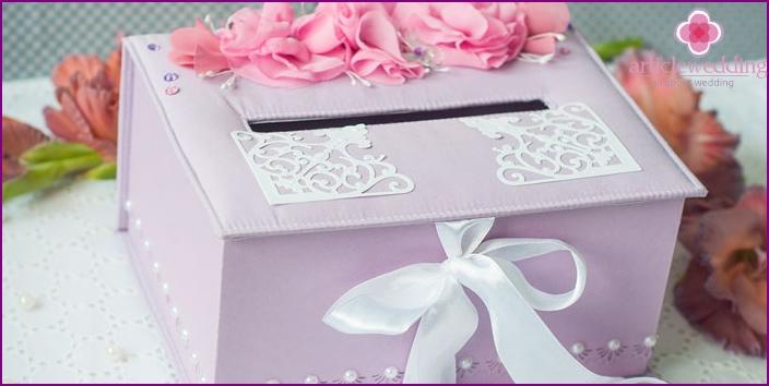 Box for wedding money