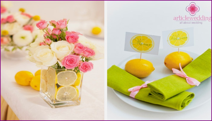 Flower and fruit accessories