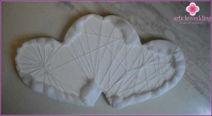 Basis mit gepolsterter Polsterung aus Polyester