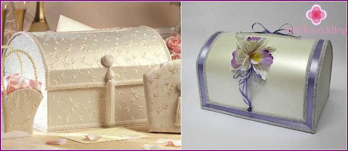 Klassische Hochzeitskiste