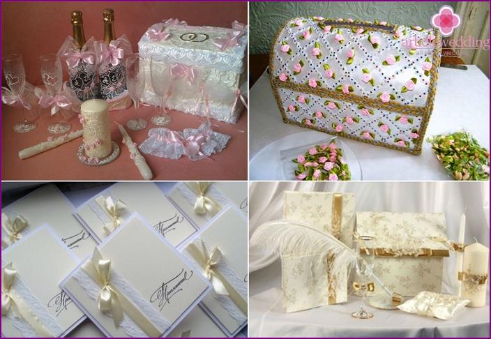 DIY wedding accessories