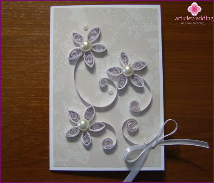 wedding quilling