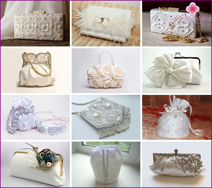 Wedding bags for the bride