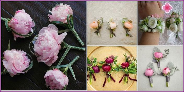 Flower Arrangements for Witnesses