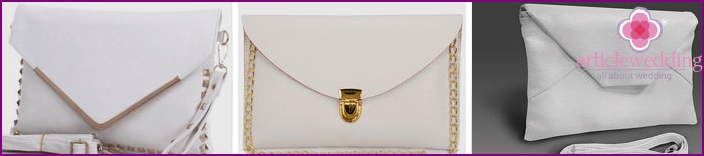 Envelope Wedding Clutches
