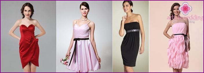 Schwarzes Kleid für einen Freund
