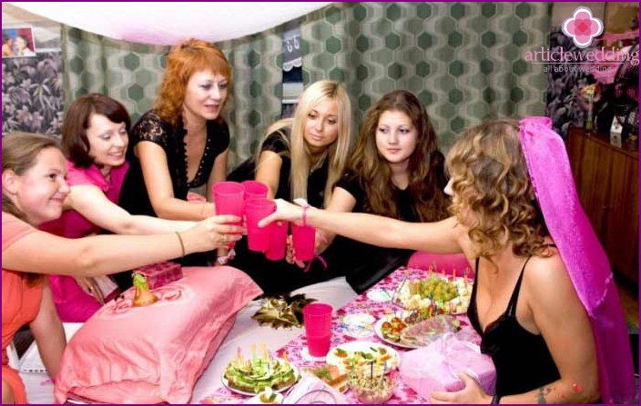High hen party photo