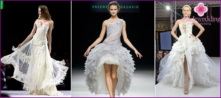 Exclusive wedding dresses from Yudashkin