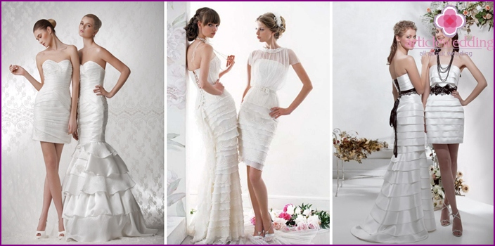 Transformer Wedding Dresses