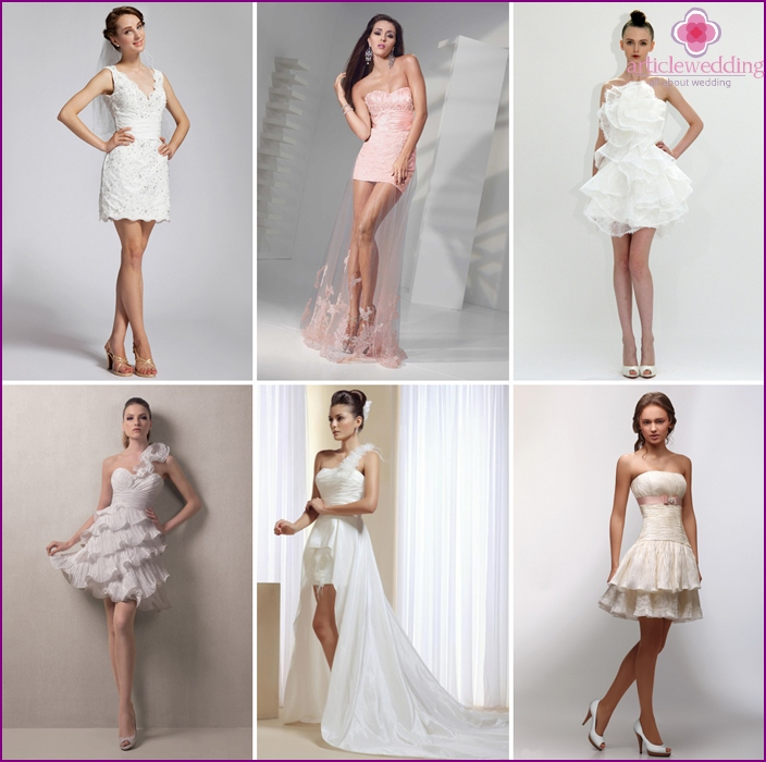 Short models for brides