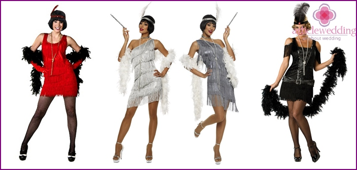 Bridal Flapper Style