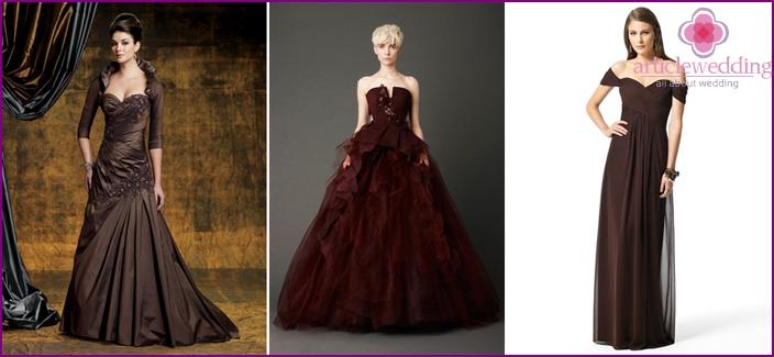 Chestnut Evening Dresses