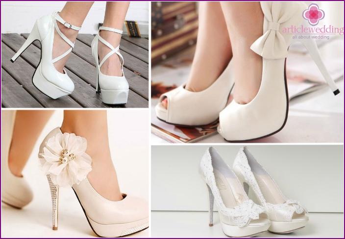 Junge Schuhe, um das Bild zu vervollständigen