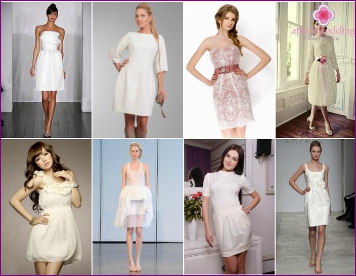 Fashionable models of formal dresses