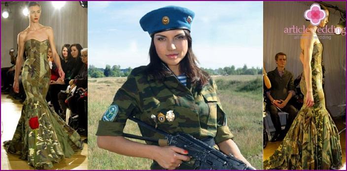 Sotilaallinen hääpuku