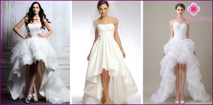 Dress for weddings of different lengths
