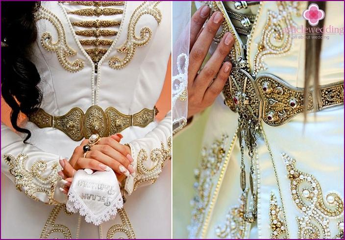 Gürtel der ossetischen Braut