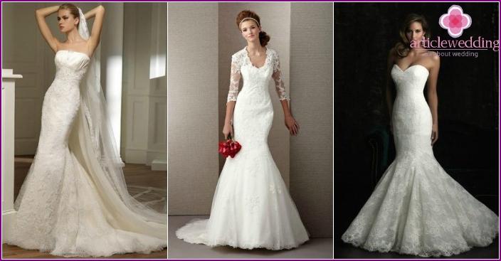 Photo: Lace Fish Wedding Dresses 2016