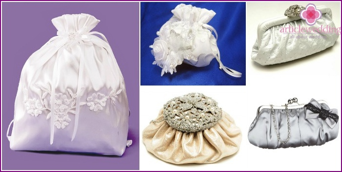 Photo of comfortable and beautiful wedding bags