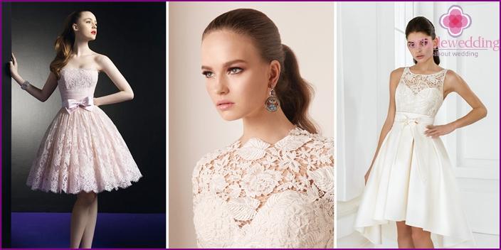 Brautkleid Optionen
