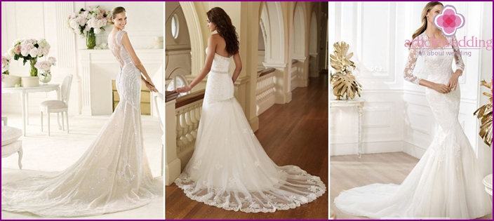 Bodycon wedding dresses