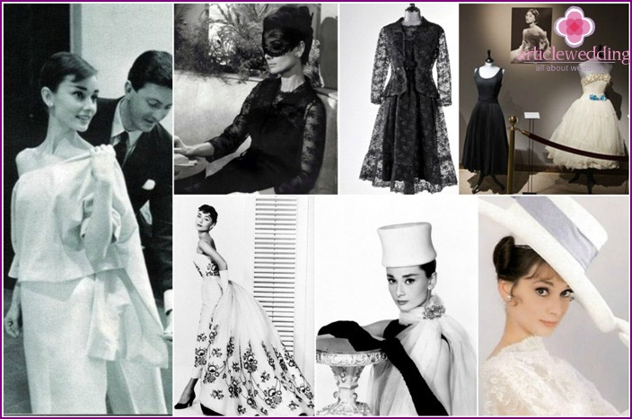 Hepburn Outfits from Givenchy