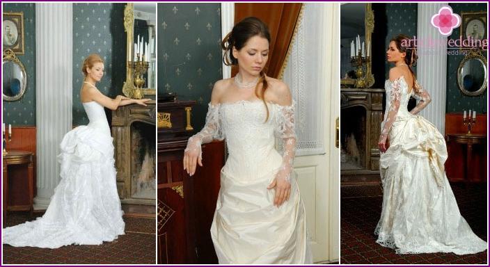 Wedding loop styling options