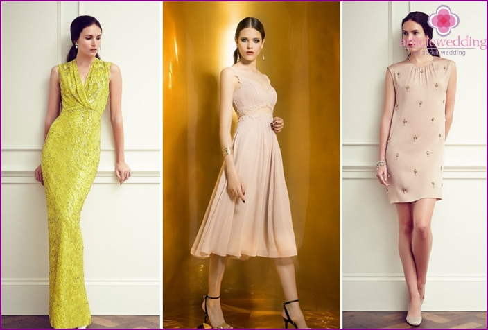 Fashionable wedding looks for guests