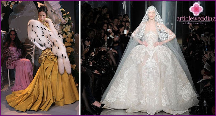 Wedding outfit from Dior