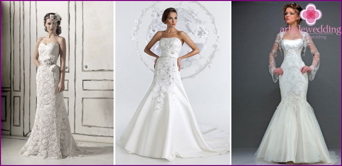 Options for wedding dresses a year