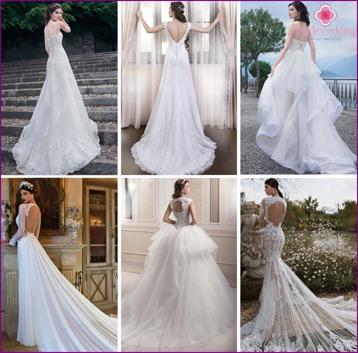 Wedding Dresses with Train