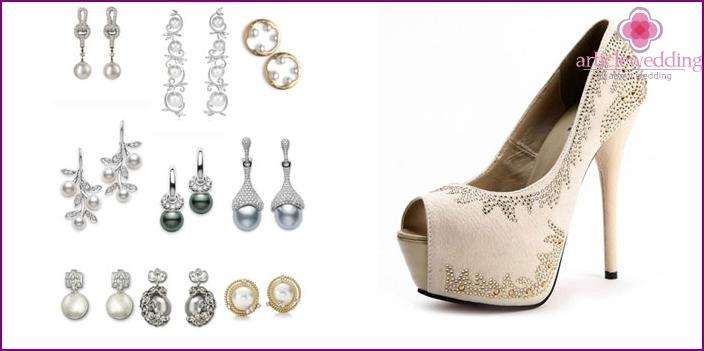 Schuhe und Accessoires für die Ehe