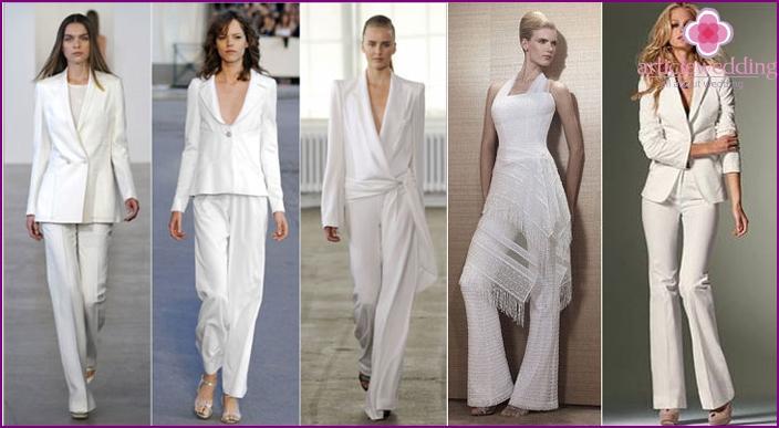 Arten von Hosen Kleidung für eine Hochzeit