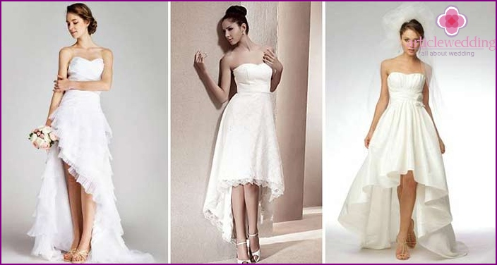 Dress style for short brides