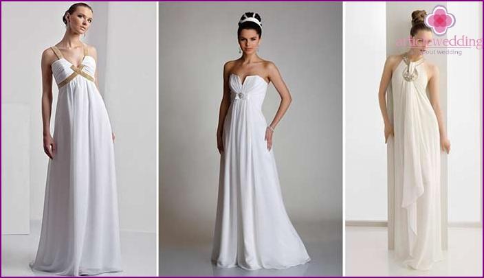 Bild der Braut: Empire-Stil