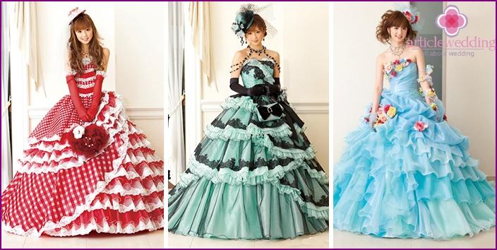Modelle von Yoko Ogura